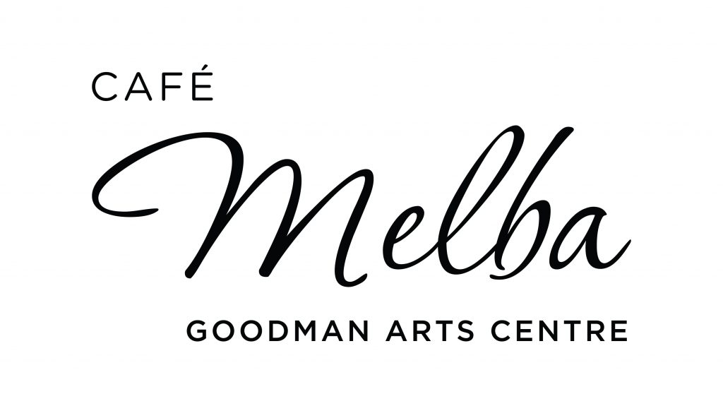 Cafe Melba, Goodman Arts Centre Logo Identity - Black.jpg