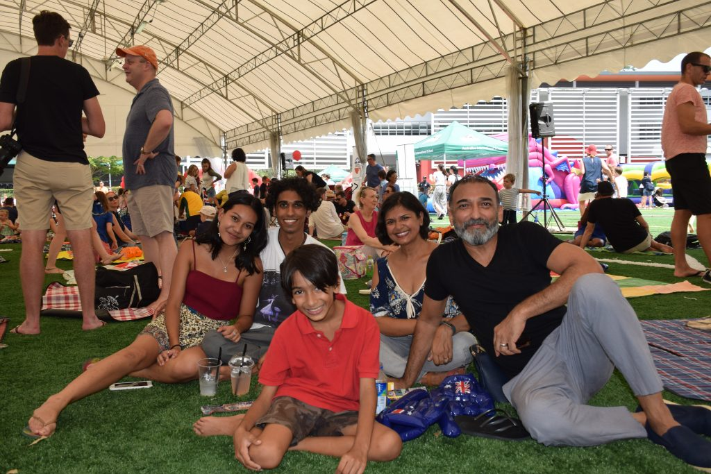 Familes enjoy ANZA's Great Australia Day BBQ