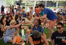 Friends & family enjoy ANZA's Great Australia Day BBQ