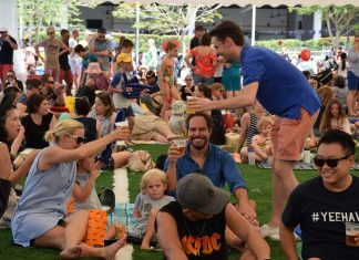 Friends & family enjoy ANZA's Great Australia Day BBQ