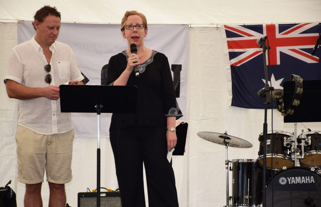 Autralian Deputy High Commissioner opens ANZA's Great Australia Day BBQ