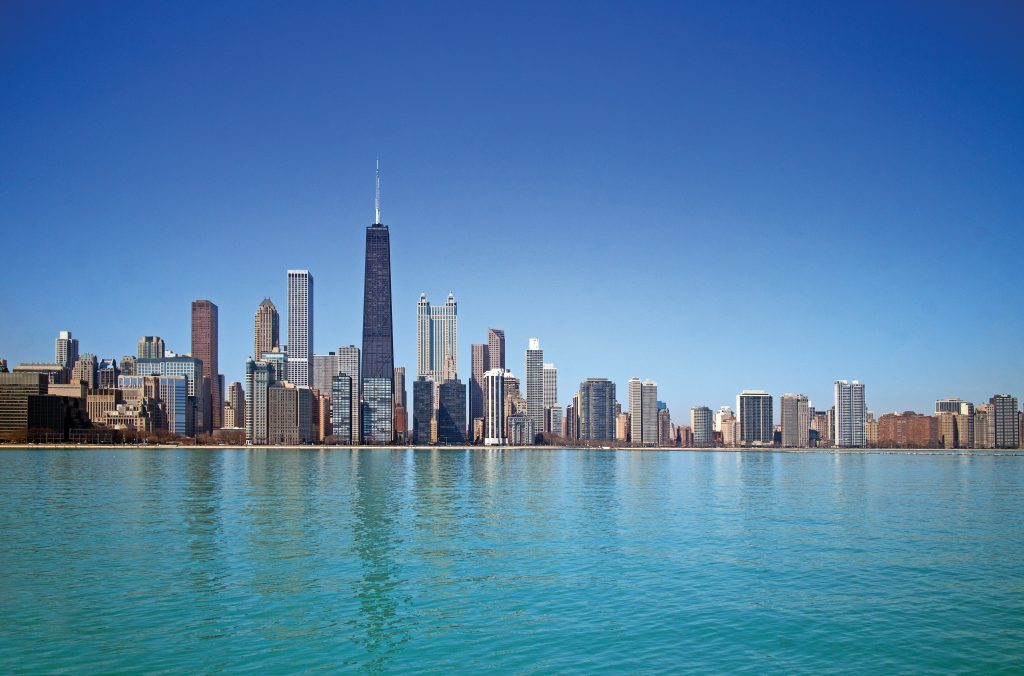 Travel to Chicago, USA for a tale of Capone, city skyscrapers and baseball's Cubs