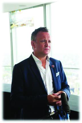 ANZA Singapore's Chill Chat Connect event speaker, Phil Biggin