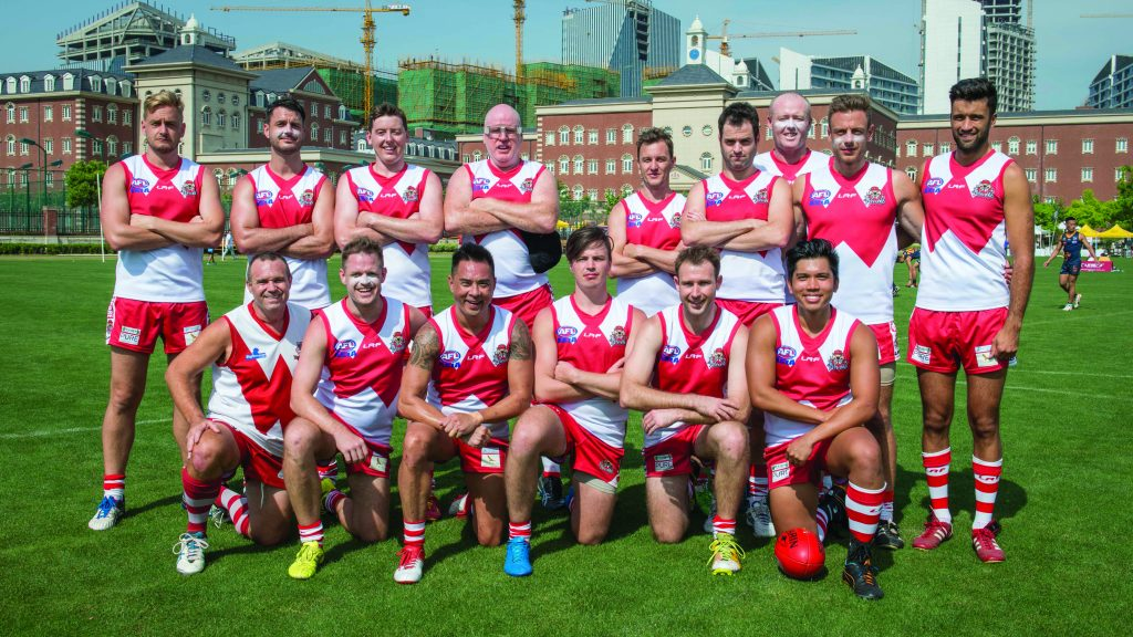 ANZA Singapore Wombats AFL team