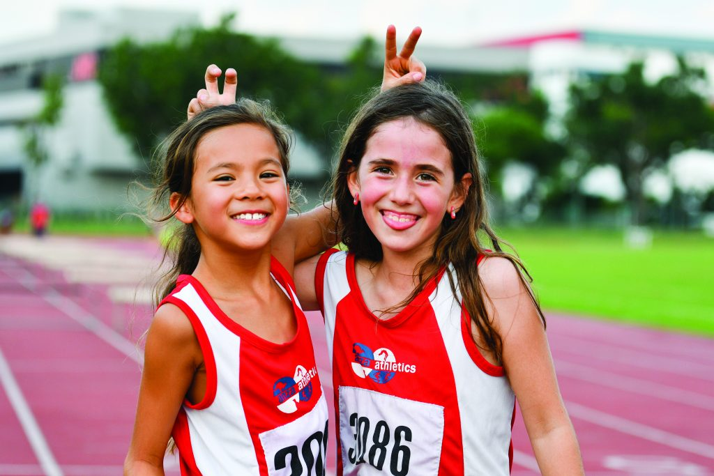 ANZA Athletics is competitive and fun