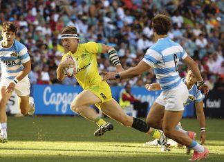 HSBC Rugby Sevens Singapore Australian fullback, Ben O'Donnell