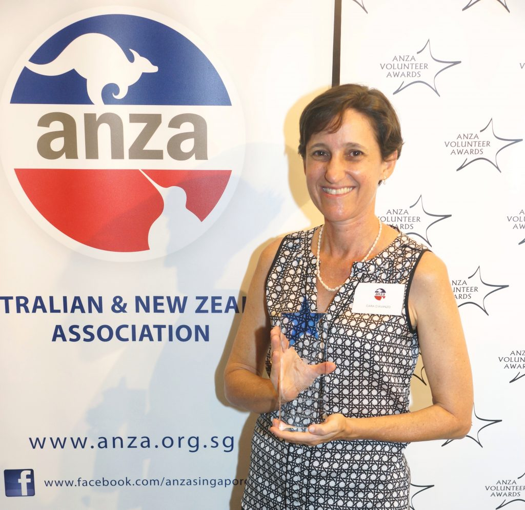 ANZA's Volunteer of the Year Awards at the Australian High Commission, Singapore