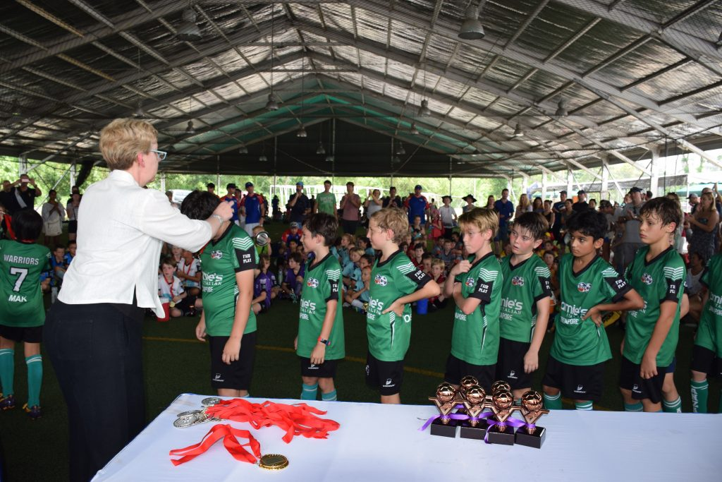 ANZA Soccer Finals Day Singapore