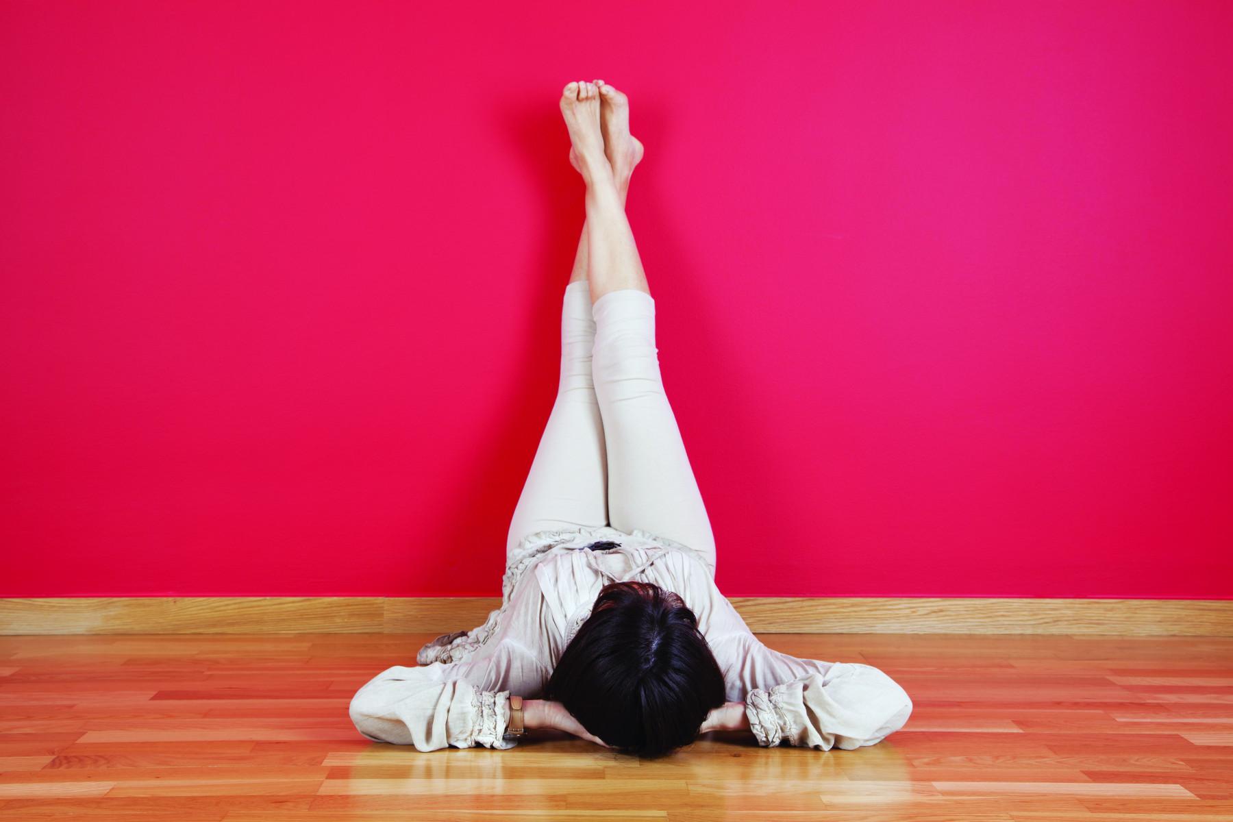 Calming At Home Yoga Poses » ANZA