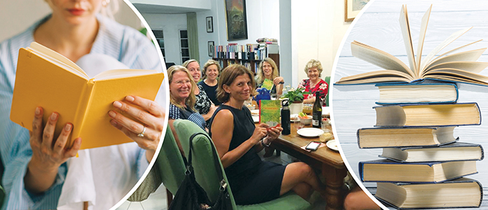 Perons reading book, ANZA book club, Persons enjoy reading