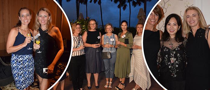 ANZA ladies night, happy women, Bonding with friends