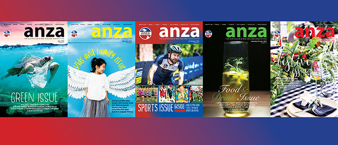 ANZA magazines