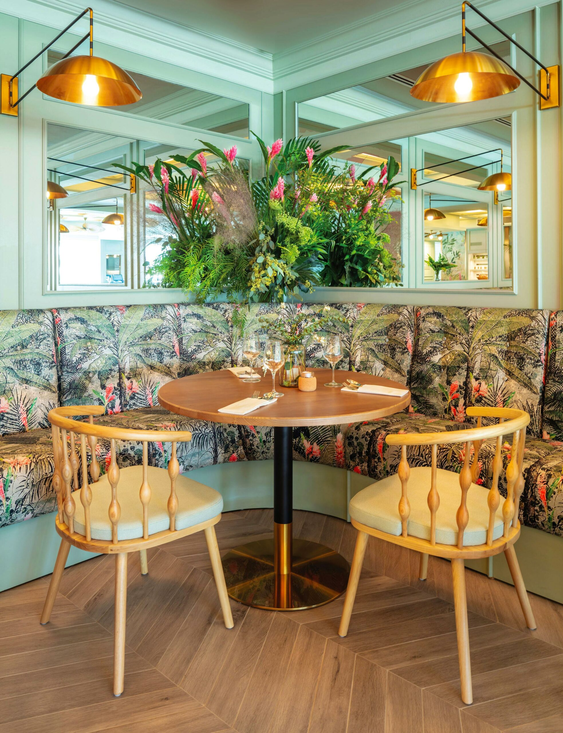 Austalian Designer, Greenery inspired decor