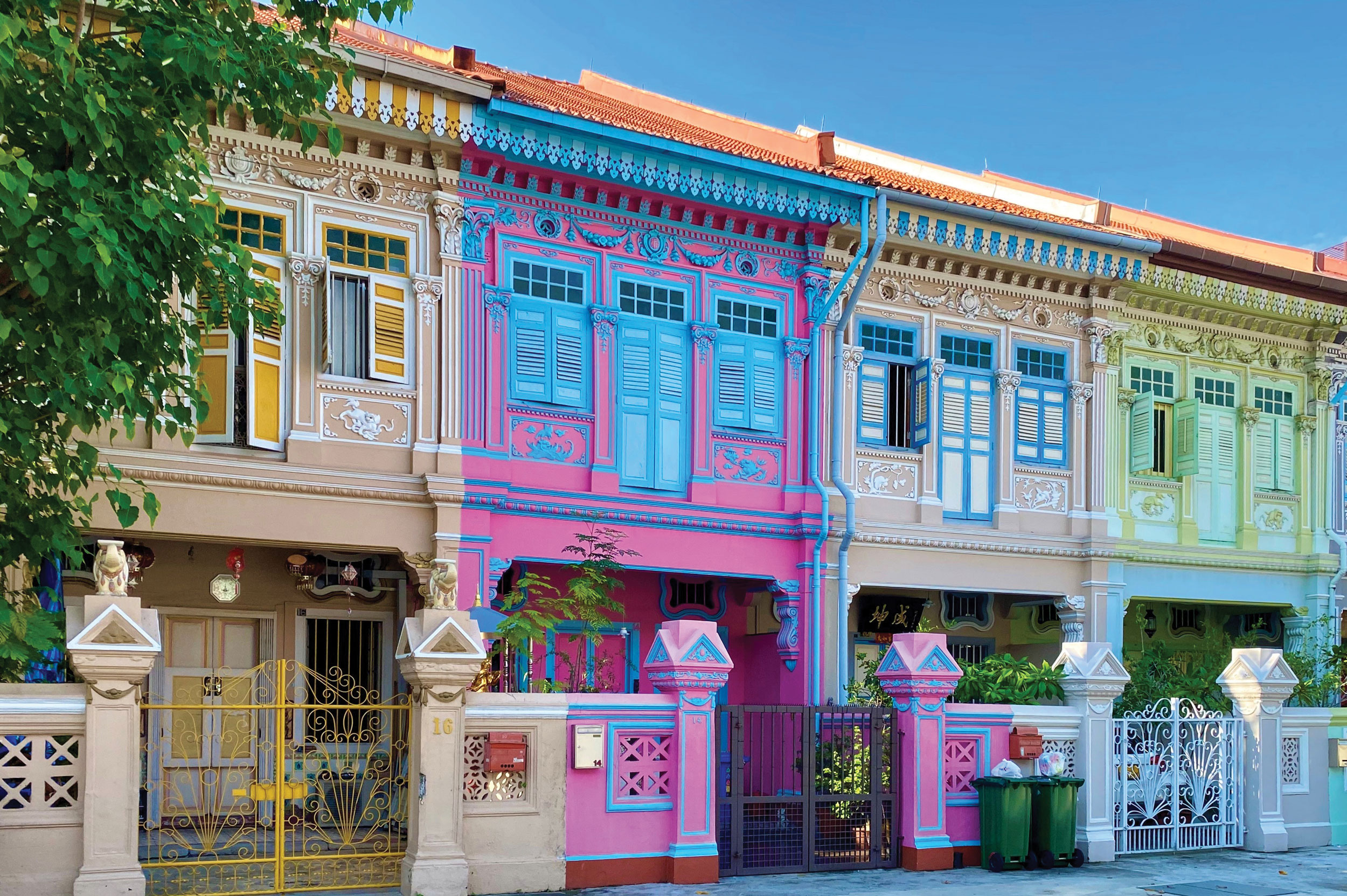 Colourfull Joo Chiat houses