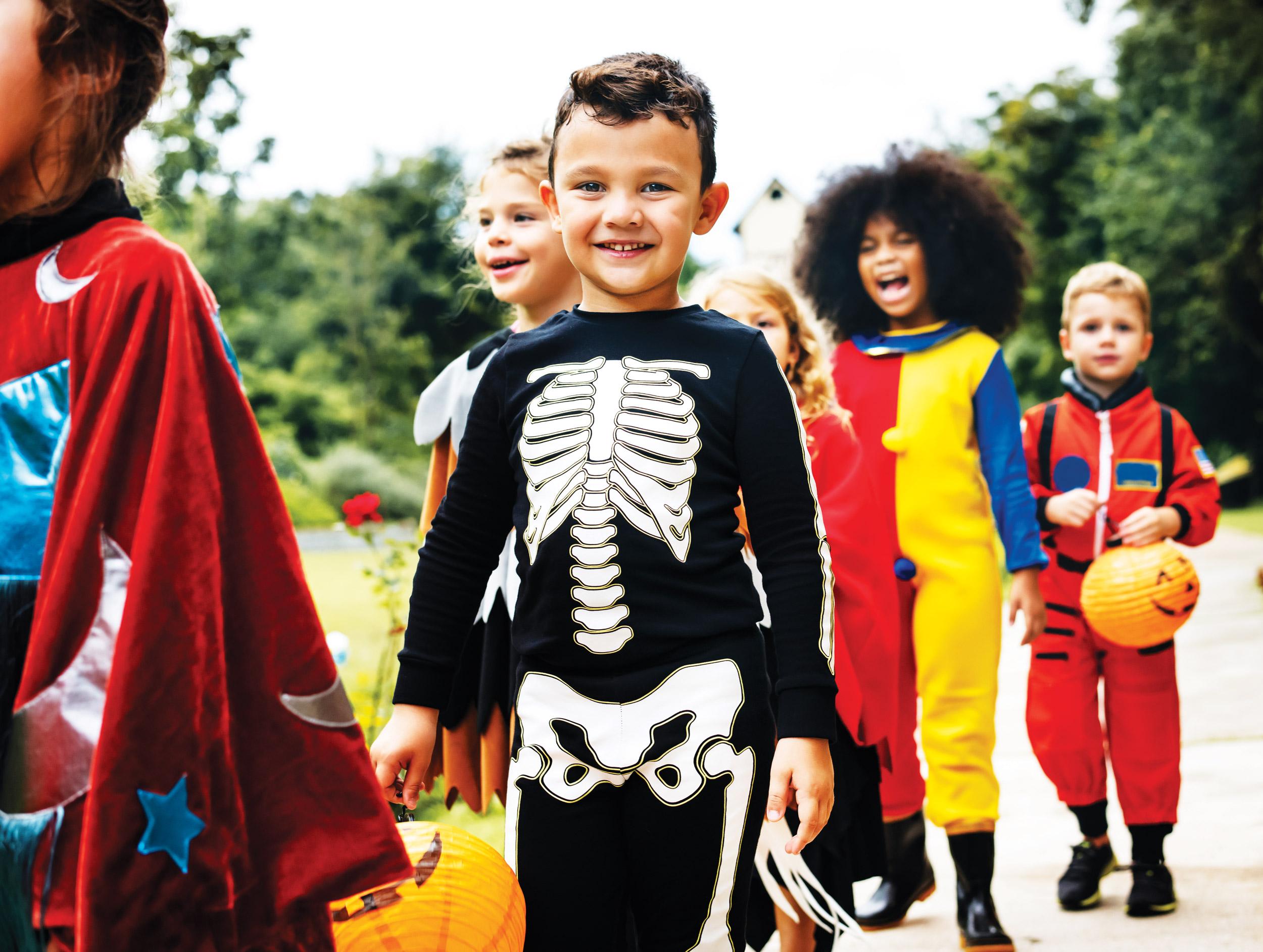 Halloween dress-up