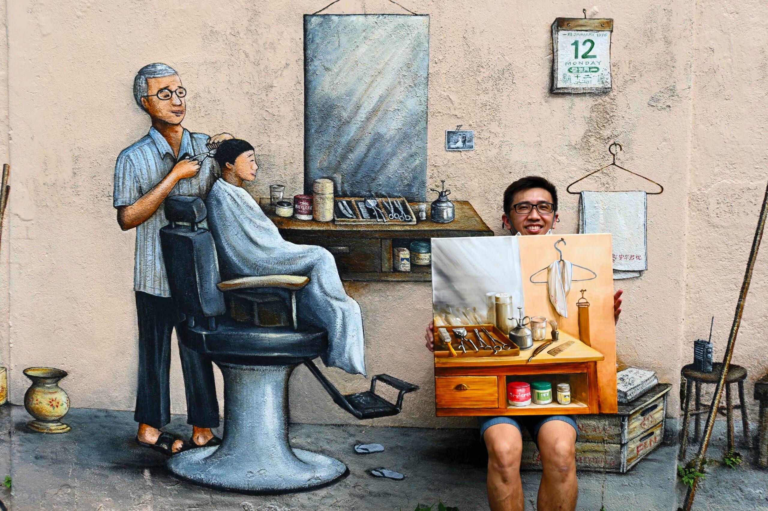 Singapore Street Artist, Yip Yew Chong