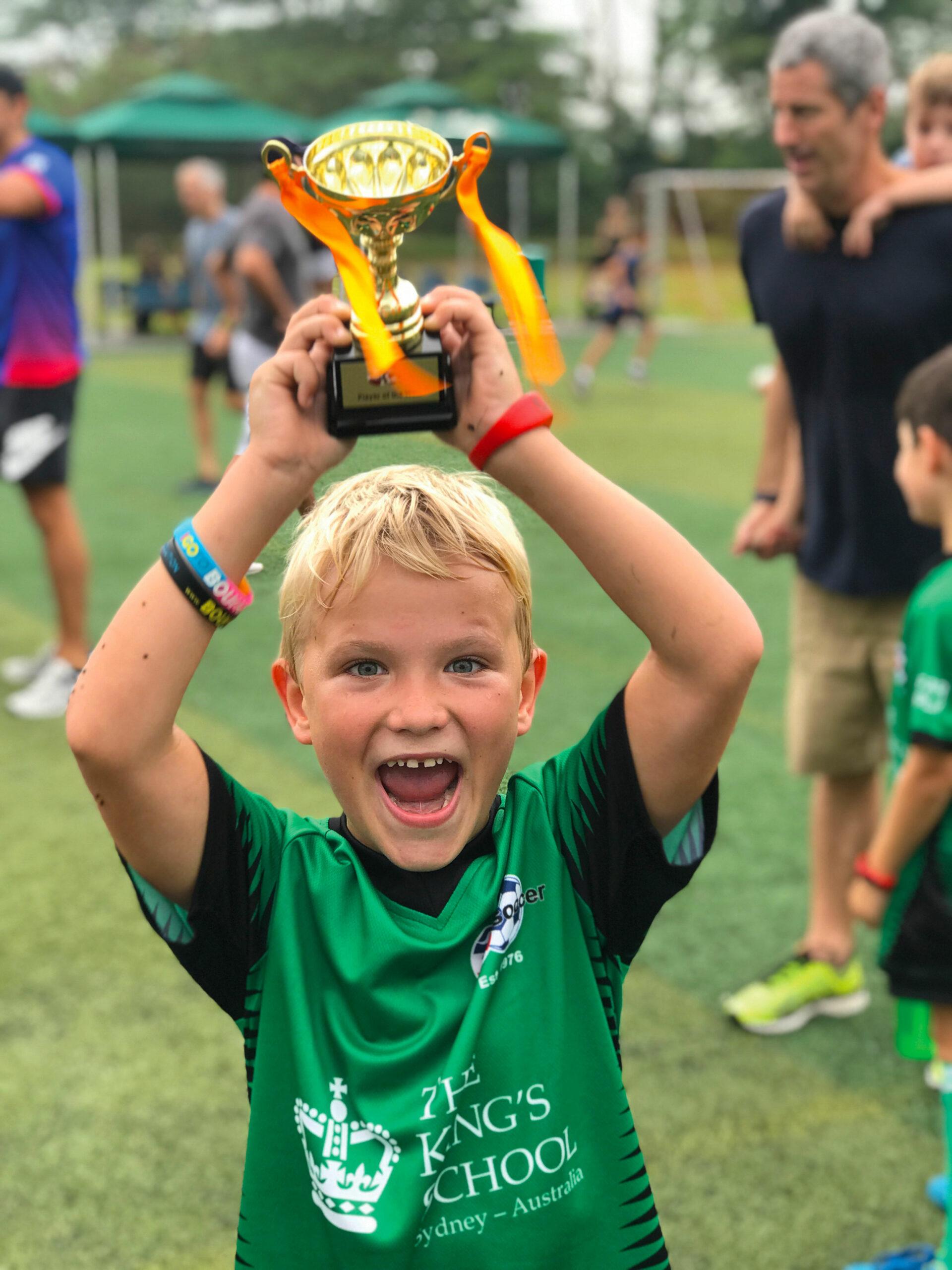 Charlie Eade, Soccer trophy