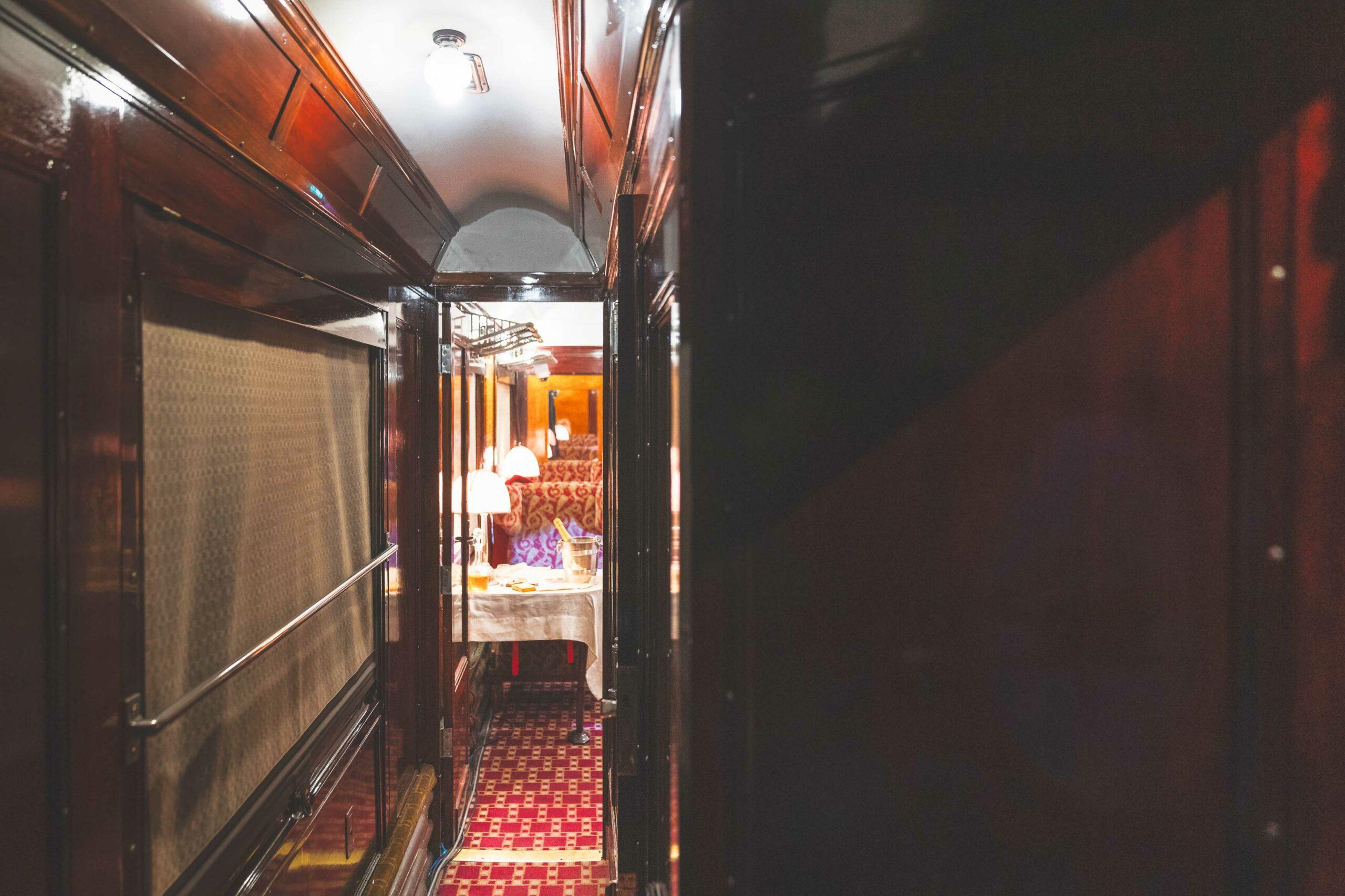 Interior of Original Orient Express