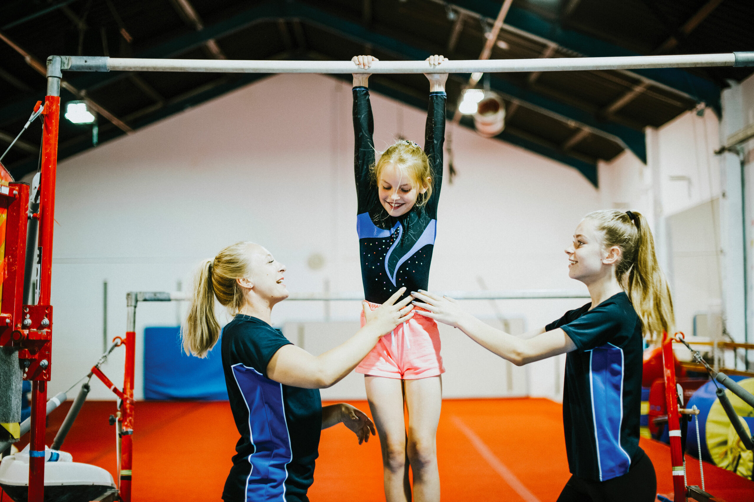 Child Learning Gymnastics in Singapore
