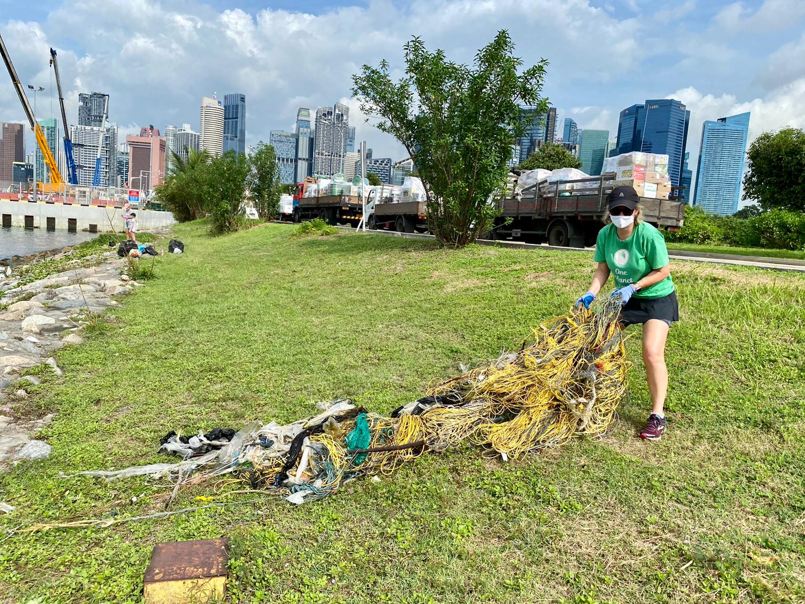 Environmental clean-up Singapore