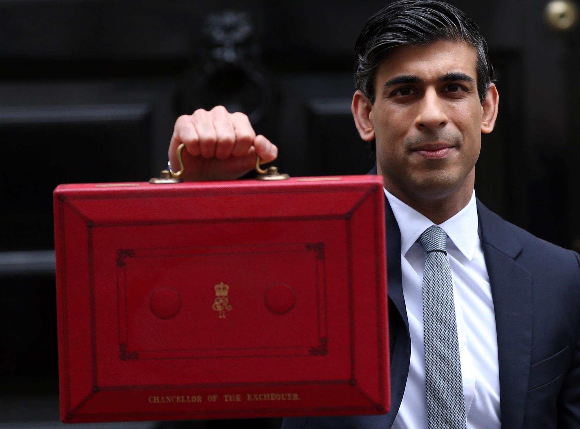 Rishi Sunak's 2021 UK Budget