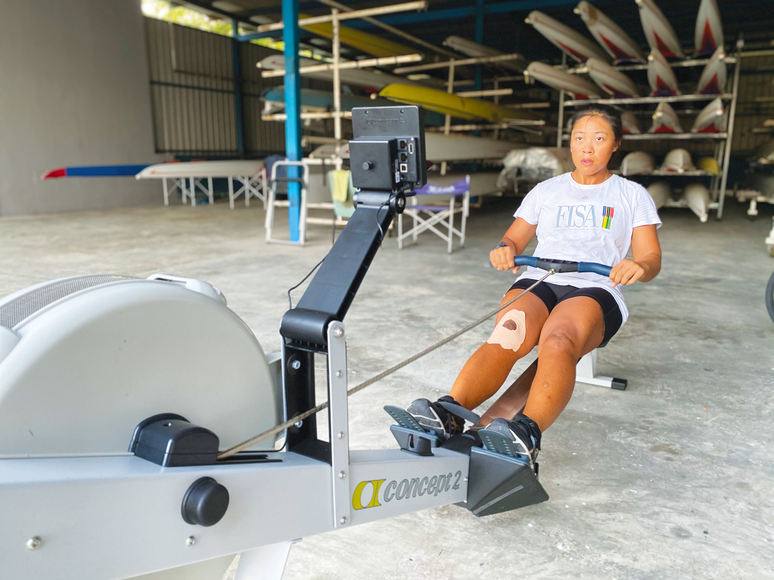 ANZA sports Rower Poh