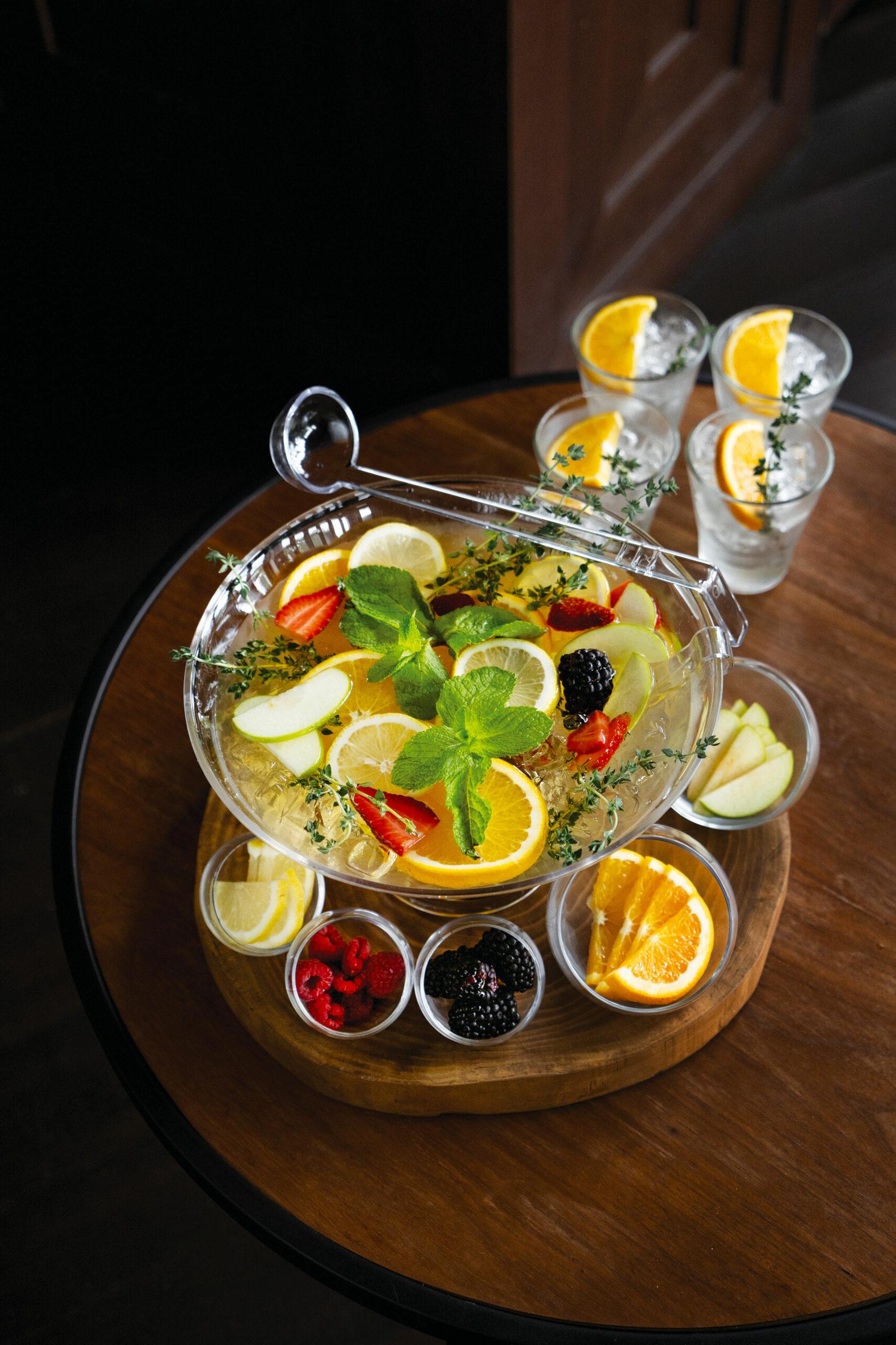DIY Sangria Bowl
