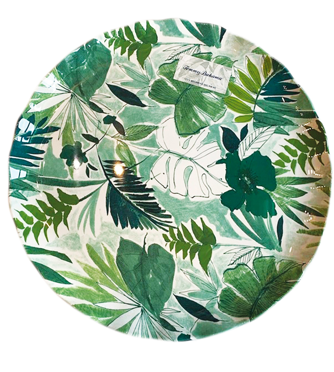 Melamine plate from Iggy's Crafts