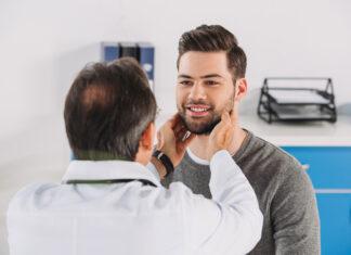 Man seeing doctor