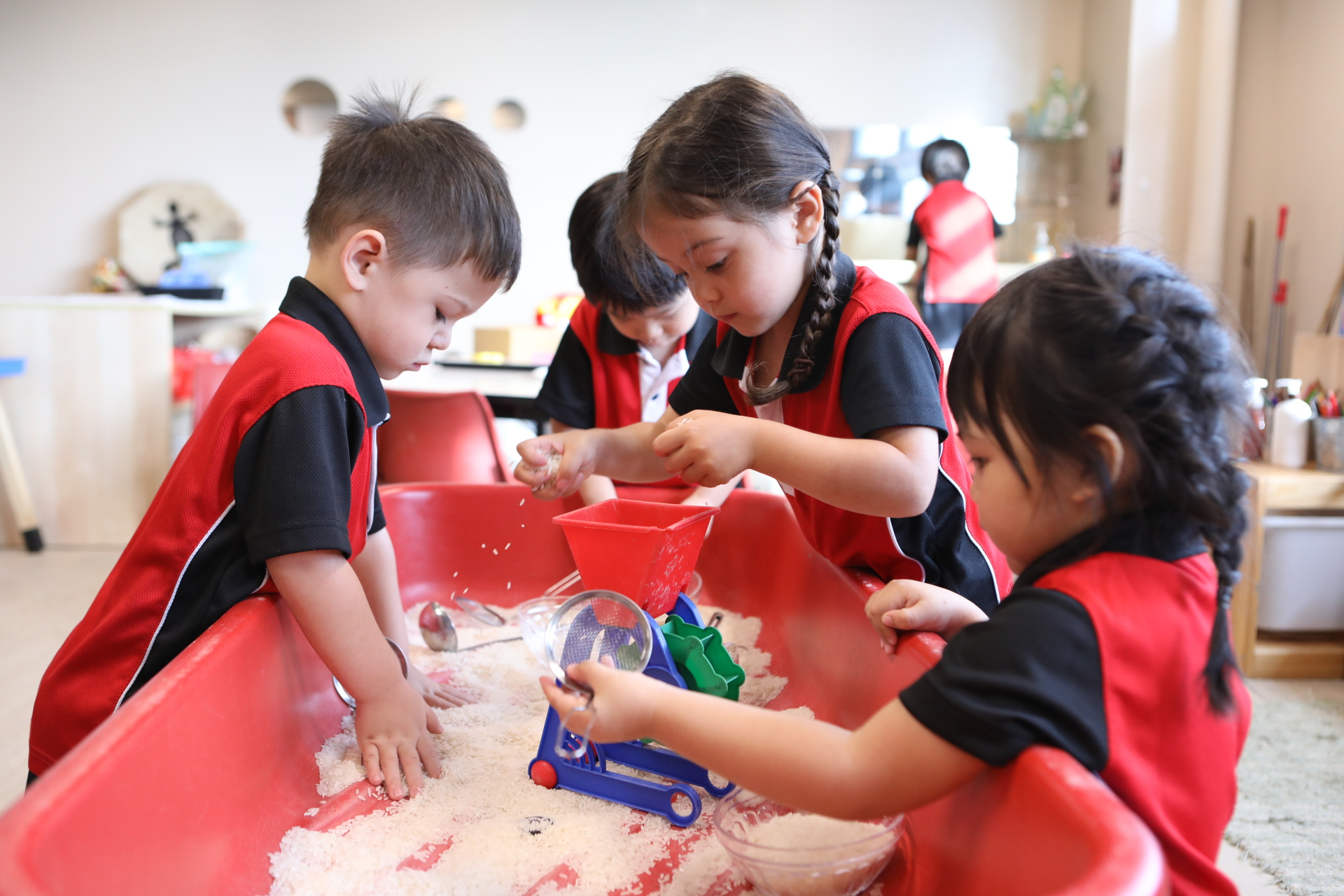 CIS Students learning through play