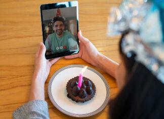 Videocall with boyfriend